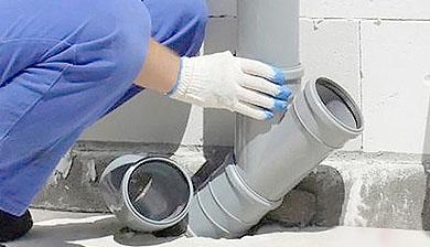 Монтаж и замена канализационных труб